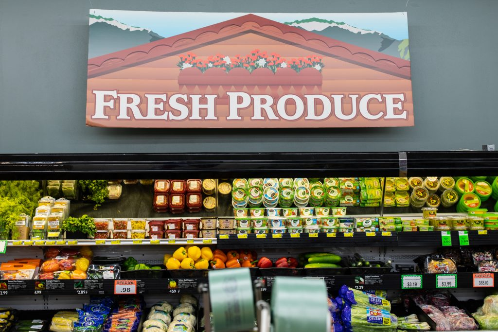 Roy's Market Produce Department